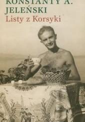 Okładka książki Listy z Korsyki Konstanty A. Jeleński
