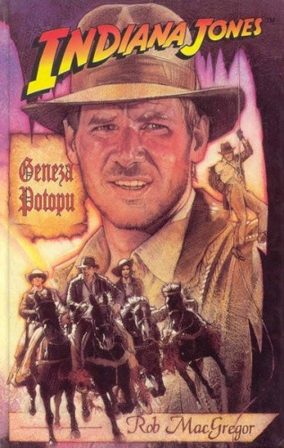 Okładka książki Indiana Jones i Geneza Potopu Rob MacGregor