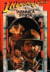 Okładka książki Indiana Jones i tajemnica Sfinksa