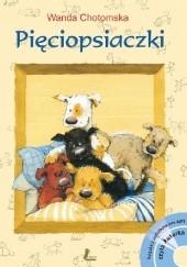 Okładka książki Pięciopsiaczki Wanda Chotomska
