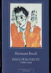 Okładka książki Kilka uwag o kiczu i inne eseje Hermann Broch
