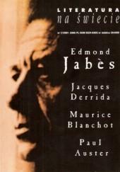 Okładka książki Literatura na świecie nr 7/2001 (360) Paul Auster,Redakcja pisma Literatura na Świecie