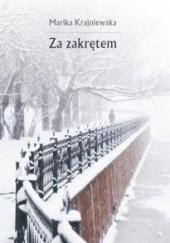 Okładka książki Za zakrętem Marika Krajniewska