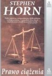 Okładka książki Prawo ciążenia Stephen Horn