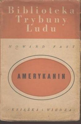 Okładka książki Amerykanin Howard Fast