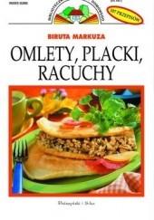 Okładka książki Omlety, placki, racuchy. 84 przepisy Biruta Markuza
