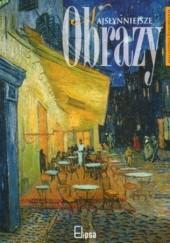 Okładka książki Najsłynniejsze obrazy malarstwa europejskiego Daina Kolbuszewska