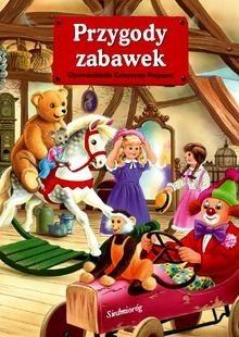 Okładka książki Przygody zabawek Sandrine Deredel Rogeon,Katarzyna Najman