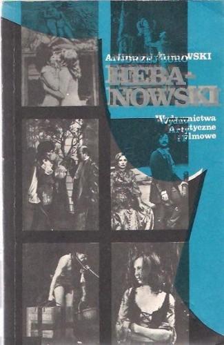 Okładka książki Hebanowski :  monografia artystyczna