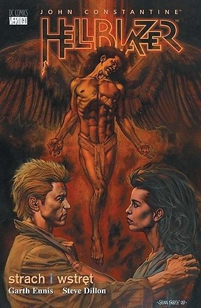 Okładka książki Hellblazer: Strach i wstręt Steve Dillon,Garth Ennis