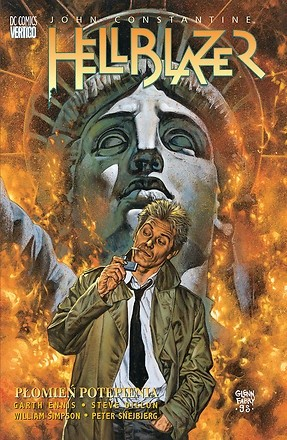 Okładka książki Hellblazer: Płomień potępienia Steve Dillon,Garth Ennis