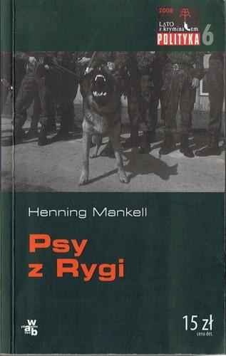 Okładka książki Psy z Rygi Henning Mankell
