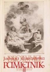 Okładka książki Pamiętnik 1834-1897 Jadwiga Łuszczewska