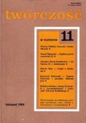 Okładka książki Twórczość, nr 11 (588)/ 1994 Krzysztof Rutkowski,Marcin Kula,Jarosław Marek Rymkiewicz,Marek Bukowski,Elżbieta Juszczak,Joanna Mieszko,Redakcja miesięcznika Twórczość
