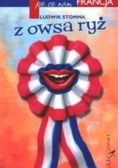 Okładka książki Z owsa ryż Ludwik Stomma
