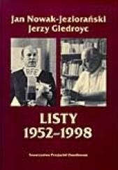 Okładka książki Listy 1952-1998 Jerzy Giedroyć,Jan Nowak-Jeziorański