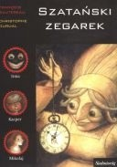 Okładka książki Szatański zegarek Francois Sautereau