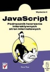 Okładka książki Javascript. Podręcznik tworzenia interaktywnych stron internetowych Dave Thau
