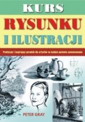 Okładka książki Kurs rysunku i ilustracji Peter Gray