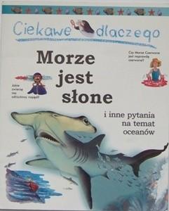 Okładka książki Ciekawe dlaczego morze jest słone Anita Ganeri