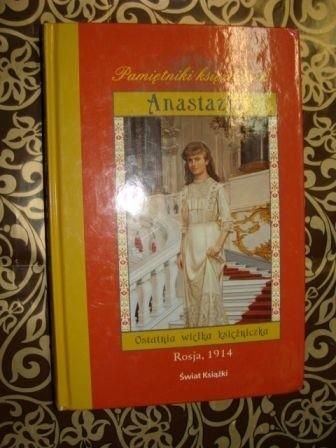 Okładka książki Anastazja  Ostatnia wielka księżniczka Carolyn Meyer