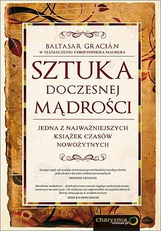 Okładka książki Sztuka doczesnej mądrości Baltasar Gracián