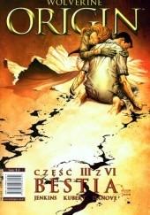 Okładka książki Origin: Bestia Paul Jenkins,Andy Kubert,Richard Isanove