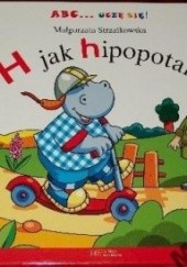 Okładka książki H jak hipopotam
