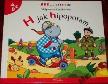 Okładka książki H jak hipopotam Małgorzata Strzałkowska