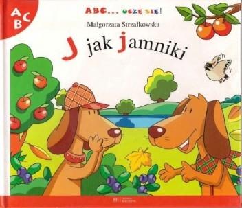 Okładka książki J jak jamniki Małgorzata Strzałkowska