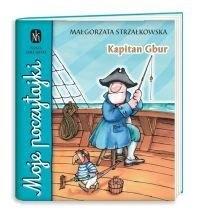 Okładka książki Kapitan Gbur Małgorzata Strzałkowska