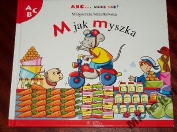 Okładka książki M jak myszka Małgorzata Strzałkowska