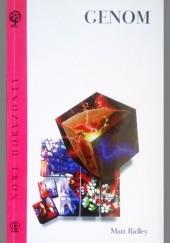 Okładka książki Genom Matt Ridley