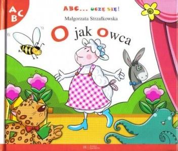 Okładka książki O jak owca Małgorzata Strzałkowska