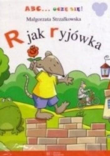 Okładka książki R jak ryjówka Małgorzata Strzałkowska