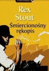 Okładka książki Śmiercionośny rękopis Rex Stout