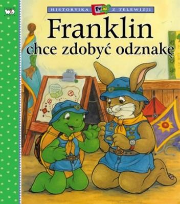 Okładka książki Franklin chce zdobyć odznakę Sharon Jennings