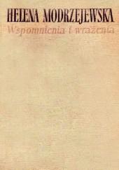 Okładka książki Wspomnienia i wrażenia Helena Modrzejewska