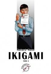 Okładka książki Ikigami #3 Motorō Mase
