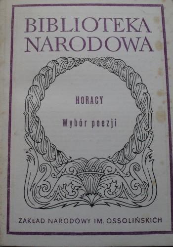 Wybór Poezji Horacy 86180 Lubimyczytaćpl