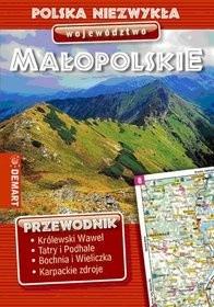 Okładka książki Polska niezwykła. Województwo małopolskie Magdalena Bażela,Sebastian Borkowski,Łukasz Mędrzycki,praca zbiorowa