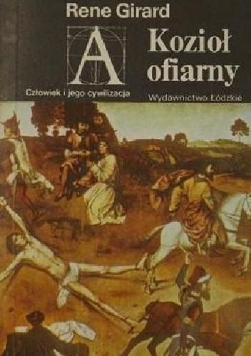 Okładka książki Kozioł ofiarny René Girard
