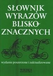 Okładka książki Słownik wyrazów bliskoznacznych Stanisław Skorupka