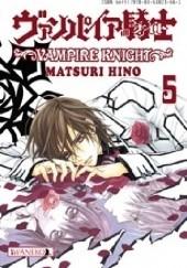 Okładka książki Vampire Knight tom 5 Hino Matsuri