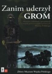 Okładka książki Zanim uderzył GROM praca zbiorowa