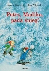 Okładka książki Patrz, Madika, pada śnieg! Astrid Lindgren
