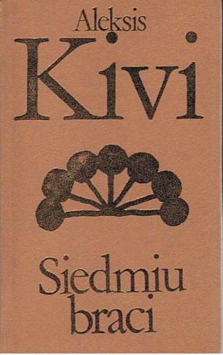 Okładka książki Siedmiu braci Aleksis Kivi