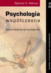 Okładka książki Psychologia współczesna Spencer Rathus