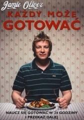 Okładka książki Każdy może gotować Jamie Oliver