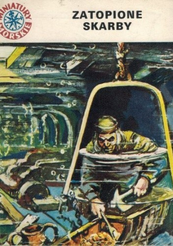 Okładka książki Zatopione skarby Antoni Strzelbicki